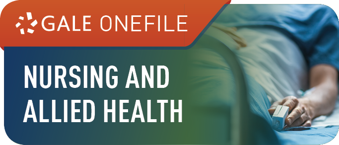 Gale OneFile: Nursing and Allied Health