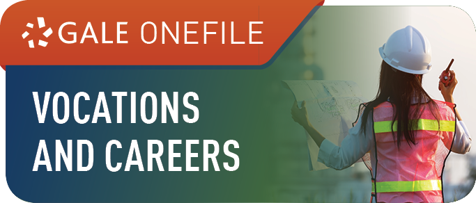 Gale OneFile: Vocations and Careers